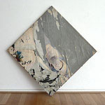"""Jacques Villeglé """"Avenue Victoria, 4 juin 1965"""", 1965 Décollage 70,5 x 70,5 cm"""