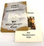 """""""Katalog Zwischenräume"""", 1987-91 58. Ex von100 , Mischtechnik auf Papier, ca. 25 x 15 x 2 cm"""