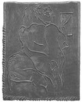 """Untitled ed.4/11"", rubber relief, 1991 (Sold)"