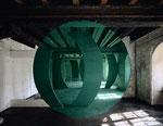 """""""Metz Vert"""", Farbfotografie auf Aluminium"""