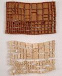 """""""Setzkasten"""" 1990 Holz, Bindedraht ca. 110 x 70 x 4 cm"""