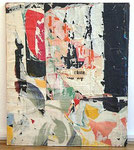 """Jacques  Villeglé """"Algérie, Rue de Tolbiac, 26 octobre 1962"""", 1962 Décollage 88,5 x 75 cm"""