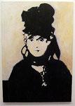 "Heribert C. Ottersbach ""Morisot 1 (1. Nachbild)"", 2008 Acryl auf Leinwand 120 x 85 cm"