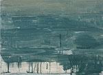 Das Material ist das Bild, ist Bild... (Triumph der amerik. Moderne), 2010, Acryl a. Lwd., 42 x 57 cm (HCO-0077-10)