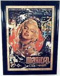 """Mimmo Rotella """"Marilyn, La storia di una delle"""", 1962 Décollage 140 x 100 cm, Unikat"""