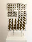 """Byzanz"", 1974 Messing u. Phosphorbronze 50,5 x 31 x 17 cm (sold)"