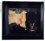 """SPQR"", 1961 Decollage 38 x 45 cm"