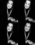 "Andy Warhol ""Actress "", 1986/87 Collage mit 4 Gelatin-Silber-Prints 70 x 54 cm e"