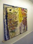 """Buchobjekt "" Riesenatlas"", 1996 Papier, Aluminium, Ölfarbe, Leinwand, Leder 172 x 180 x 12 cm), Unikat"