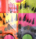 """Waldordnung"", 2001 Cibachrome auf Dibond, 61 x 56 cm, Ed. 2/3"
