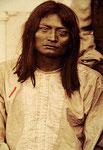 """""""Clement Seanilzay 4.11.1886"""" Pigmentdruck auf Hahnemühle Photo Rag 308 g, Beschr. sign. dat. auf dem unteren Bildrand unter Pp, 20.01.2010. 120 x 85 cm (gerahmt 145 x 109 cm) 1/3"""