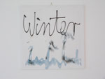 """""""Sommer / Mittwoch / Winter"""", 2006 Acryl und Silikon auf Leinwand, 3-tlg Sommer 50x50 cm, Mittwoch 50x70cm, Winter 50x50cm"""