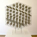 """Athos"", 1973 Messing u. Phosphorbronze 73 x 60 x 23 cm (sold)"