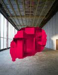 """""""Clichy Rouge 1"""",  Farbfotografie auf Aluminium"""