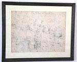 """Arman """"Allure d`objets"""", ca.1958 Tuschezeichnung 50 x 66,5 cm"""
