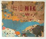 """Nice Raspail"", 1966-1996 Décollage 54,5 x 66 cm (Sold)"