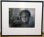 "Adolf Lazi ""Willi Baumeister"", 1949 Vintage silver print 29,6 x 39,9 cm"