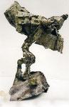 """Petersdom Rom"", 1999/2000 Bronze, verlorener Guß 90 x 40 x 40 cm), Unikat, (sold)"