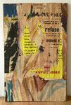 """""""Rue de Venise, 13. Mars 1965"""", 1965 Décollage 67,5 x 42,5 cm (Sold)"""