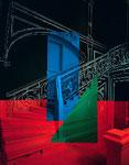 """""""Geneve"""", Farbfotografie auf Aluminium"""