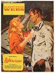 Liebe hat Vorfahrt. Entwurf für ein Plakat als Werbung für den Roman von Klaus Peter Schnüttger-Webs 1960er Jahre Rekonstuktion 2009 Pigmentdruck auf Hahnemühle Photo Rag 308 g 81 x 60 cm 1/3
