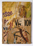 """Rue Vandamme, 24 mars 1969"", 1969 Décollage 46 x 31,5 cm (Sold)"