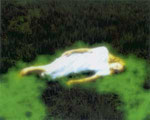 """""""Nyima 195"""", 2004 Inkjet auf Leinwand 110 x 137 cm, Ed.6"""