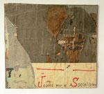 """""""122, rue de Temple, 16 août 1970"""", 1970 Décollage 50 x 58 cm (Sold)"""