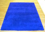"""Tapisserie bleu"", 1957 Monochrome bleu, IKB, gewebter Teppich, hochflor, Wolle 247 x 192 cm"