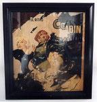 """""""La Vedette el Ritmo"""", 1962 Decollage 88 x 80 cm"""