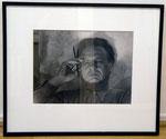 """Willi Baumeister"", 1949 Vintage silver print 29,6 x 39,9 cm"