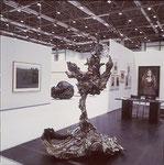 """Derwisch"" 2000 Bronze, patiniert, verlorener Guß, Unikat ca. 230x170x150cm, (sold)"