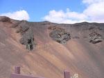 Bild: Blick in den Vulkan