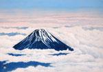 富士遠望 M15号 紙本彩色 ©INOUE KIYOHARU