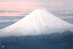 暮れる富士 M20号 (03) 紙本彩色 ©INOUE KIYOHARU