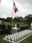 Le carré militaire du cimetière de Beaugency