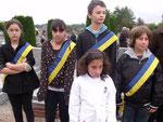 Membres du Conseil municipal des jeunes de Beaugency