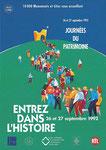 JEP 1992 - La Journée Portes ouvertes dans les monuments historiques se déroule désormais sur deux jours, et s'intitule Journées du patrimoine.