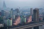 From the 37th floor of Yanggakdo Hotel - Pyongyang