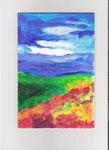Acryl - Landschaft