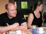 Basti und Sabine, die Eltern von Mika und Jannik