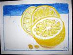 Zitronen, Ölkreide