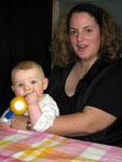 Chrissie, unsere Tochter mit Mika