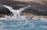 Milos, Wasser zeichnet