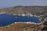 Bucht und Hafen von Amorgos