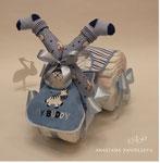Мотоцикл из памперсов