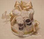 Торт из памперсов для принцессы