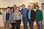 Natascha A., Irene Maurer-Scheidenberger, Bernd Olexinski, Valentina M., Marc Germeshausen, Christian Sickl und Martin Mittersteiner