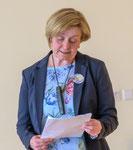 Begrüßung durch Obfrau Erika Gößnitzer