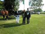 Das Königspaar 2007: Walter und Mechtild